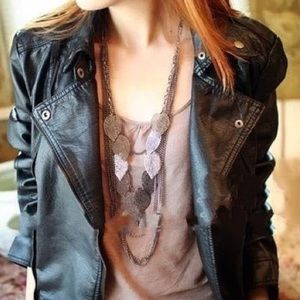 Jewelry - Multilayer Leaf Necklace